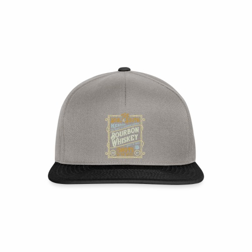 Bourbon Whiskey - Snapback Cap
