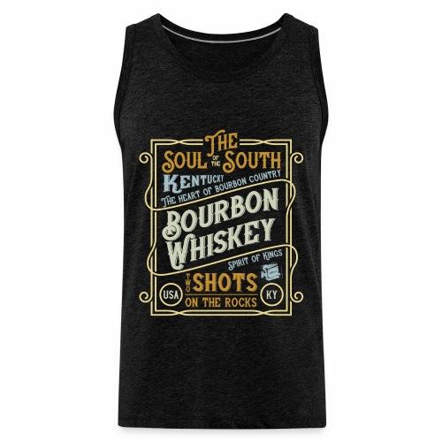 Bourbon Whiskey - Männer Premium Tank Top