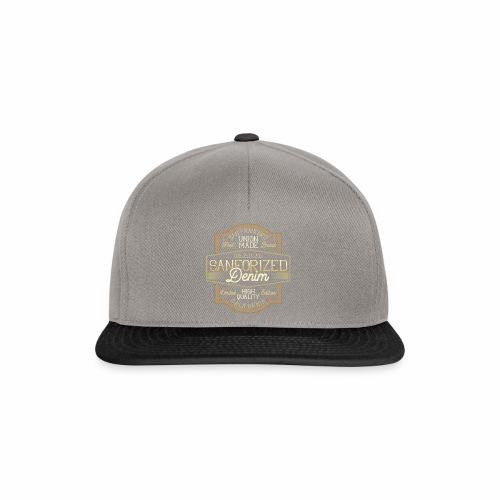 Sanforized Denim - Snapback Cap