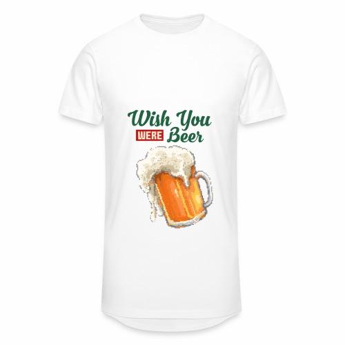 Wish you were Beer - Männer Urban Longshirt