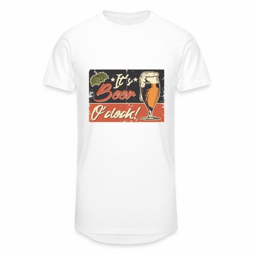 It´s Bier O´Clock - Männer Urban Longshirt
