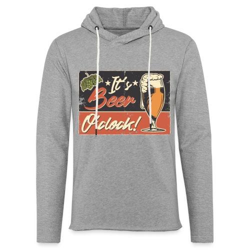 It´s Bier O´Clock - Leichtes Kapuzensweatshirt Unisex