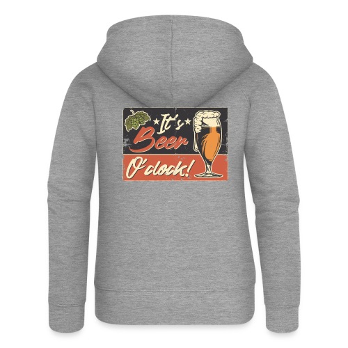 It´s Bier O´Clock - Frauen Premium Kapuzenjacke