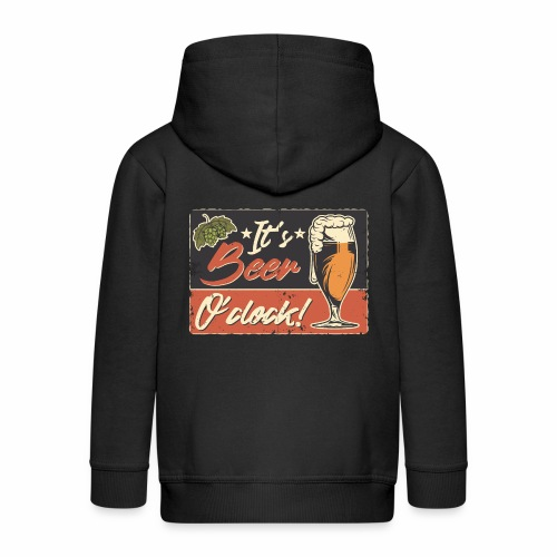 It´s Bier O´Clock - Kinder Premium Kapuzenjacke