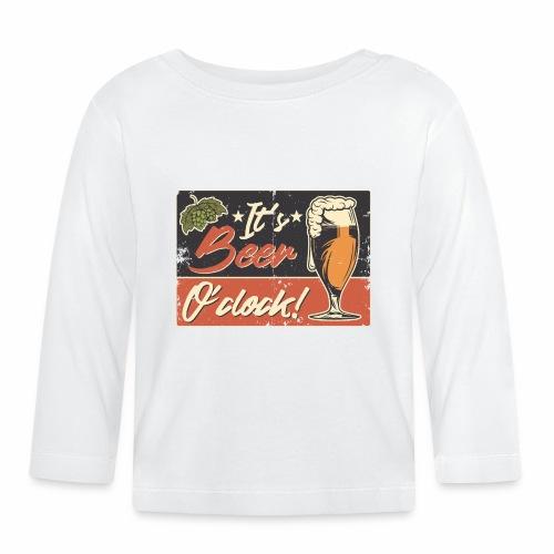 It´s Bier O´Clock - Baby Langarmshirt