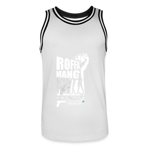 Mannen basketbal shirt