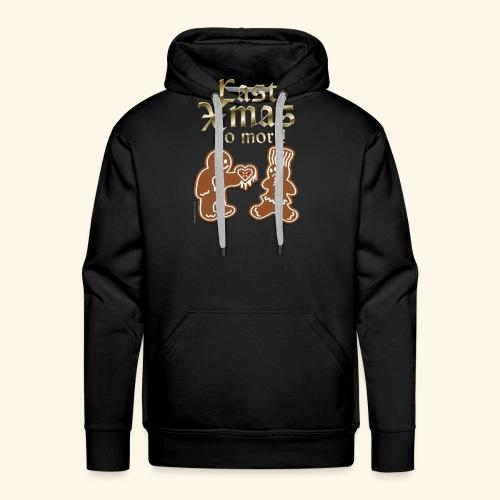 Weihnachts T Shirt Last Xmas - Geschenkidee - Männer Premium Hoodie