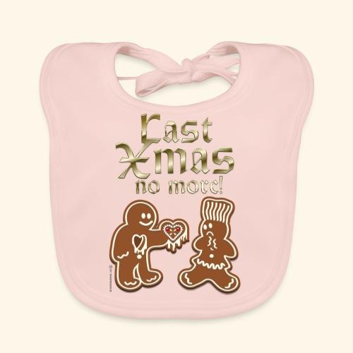 Weihnachts T Shirt Last Xmas - Geschenkidee - Baby Bio-Lätzchen