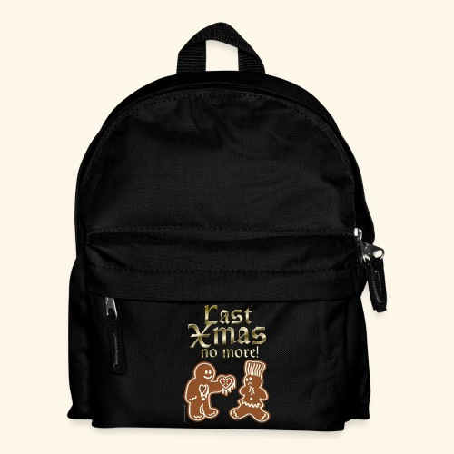 Weihnachts T Shirt Last Xmas - Geschenkidee - Kinder Rucksack