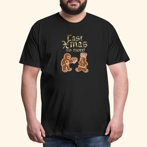 Weihnachts T Shirt Last Xmas - Geschenkidee - Männer Premium T-Shirt