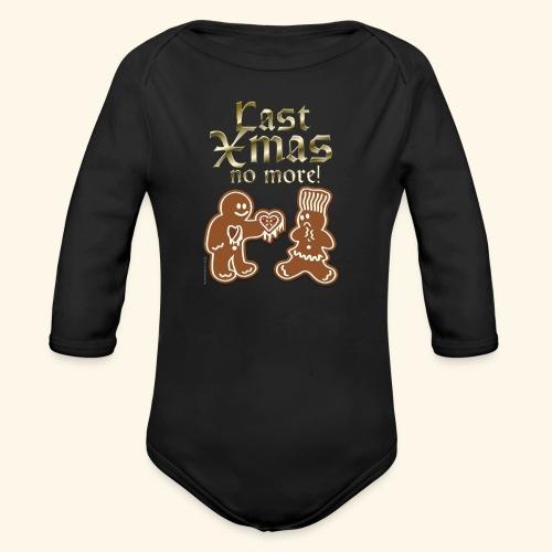 Weihnachts T Shirt Last Xmas - Geschenkidee - Baby Bio-Langarm-Body