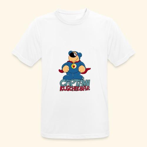 Captain Kuschelbär - Männer T-Shirt atmungsaktiv
