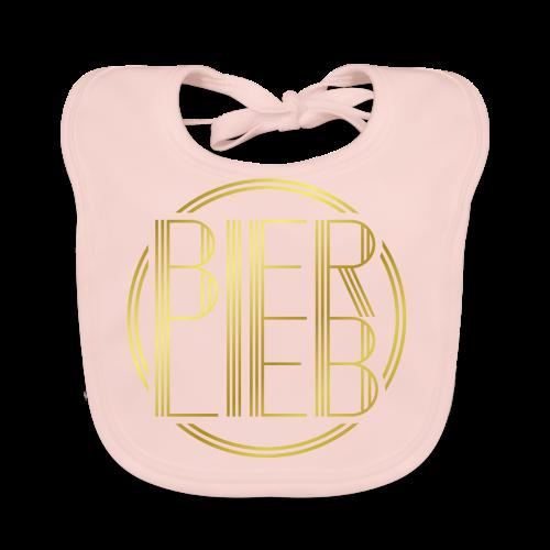Bierlieb Bier Liebe Gold - Baby Bio-Lätzchen