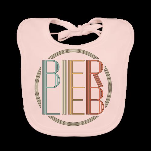Bierlieb Bier Liebe Retro - Baby Bio-Lätzchen