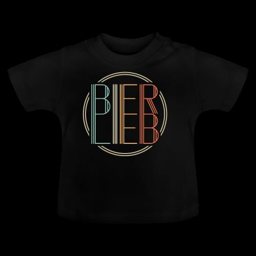 Bierlieb Bier Liebe Retro - Baby T-Shirt
