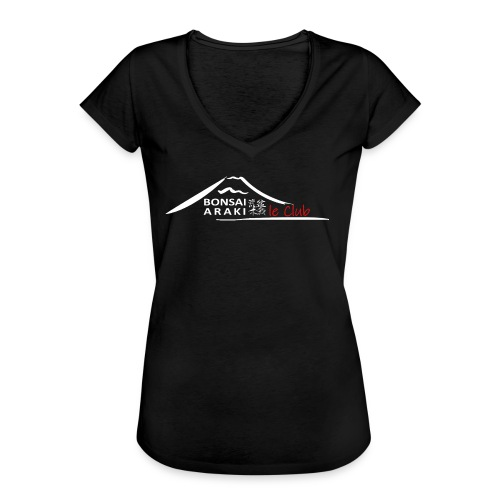 Bonsai CLUB ARAKI  - T-shirt vintage Femme