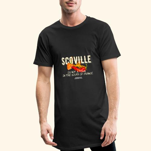 Scoville ist not a town in France T Shirt for Chili Geeks - Männer Urban Longshirt