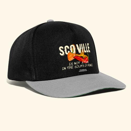Scoville ist not a town in France T Shirt for Chili Geeks - Snapback Cap