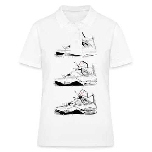 AJIV Destrukt's Steps - Women's Polo Shirt