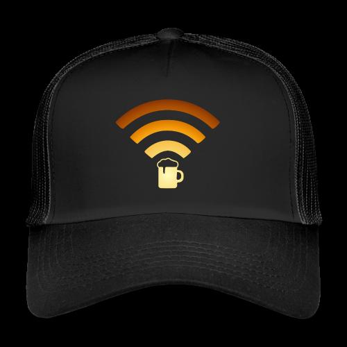Bier Beer WLAN Wifi - Trucker Cap