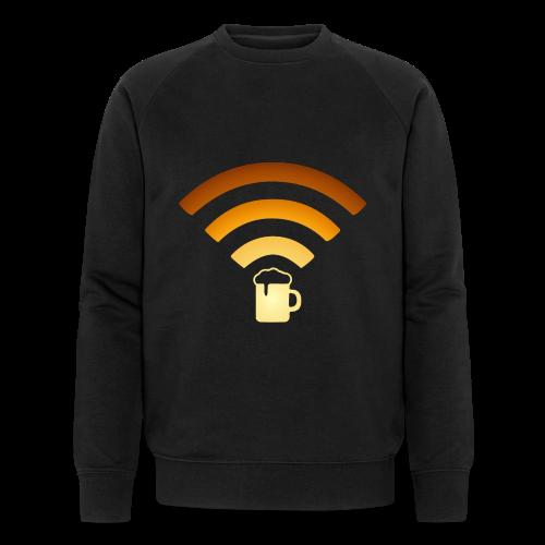 Bier Beer WLAN Wifi - Männer Bio-Sweatshirt von Stanley & Stella