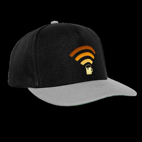 Bier Beer WLAN Wifi - Snapback Cap