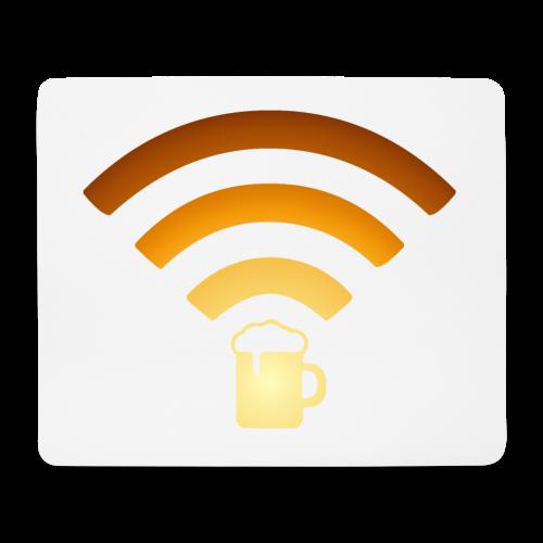 Bier Beer WLAN Wifi - Mousepad (Querformat)