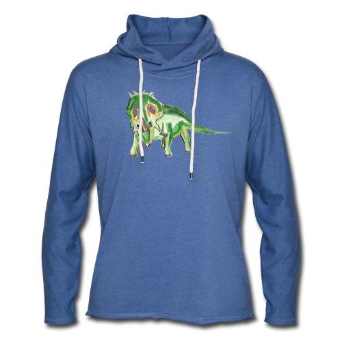 Sinoceratops - Leichtes Kapuzensweatshirt Unisex
