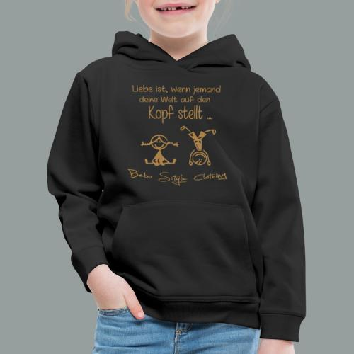 Liebe ist ... - Kinder Premium Hoodie