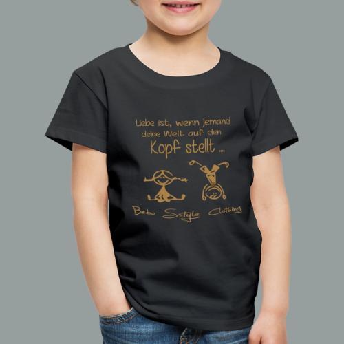 Liebe ist ... - Kinder Premium T-Shirt