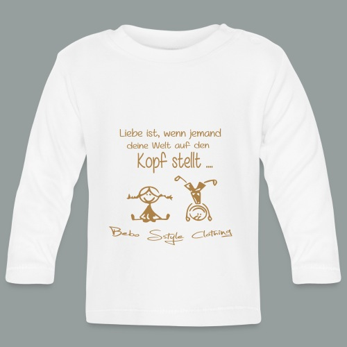 Liebe ist ... - Baby Langarmshirt