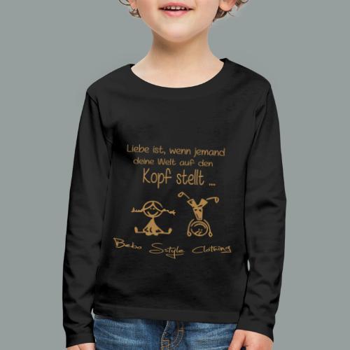 Liebe ist ... - Kinder Premium Langarmshirt