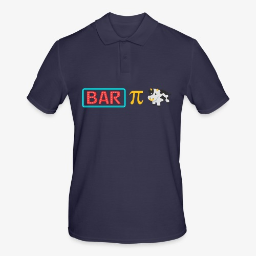 Bar Pi Kuh - Männer Poloshirt