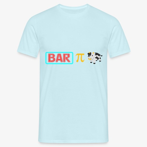 Bar Pi Kuh - Männer T-Shirt