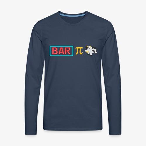 Bar Pi Kuh - Männer Premium Langarmshirt