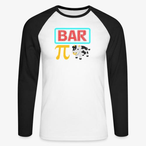 Bar Pi Kuh - Männer Baseballshirt langarm