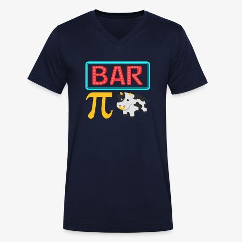 Bar Pi Kuh - Männer Bio-T-Shirt mit V-Ausschnitt von Stanley & Stella