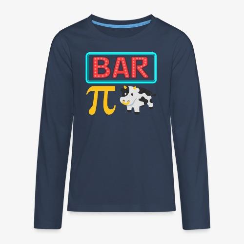 Bar Pi Kuh - Teenager Premium Langarmshirt