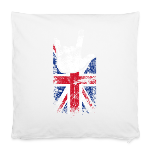 ILY Großbritannien Handsign - Kissenbezug 40 x 40 cm