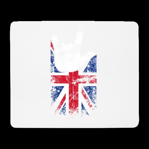 ILY Großbritannien Handsign - Mousepad (Querformat)