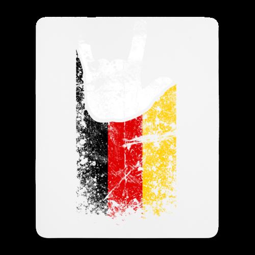 ILY Germany Handsign - Mousepad (Hochformat)