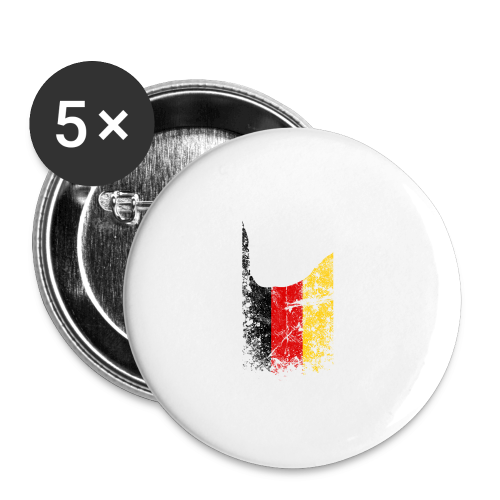 ILY Germany Handsign - Buttons groß 56 mm