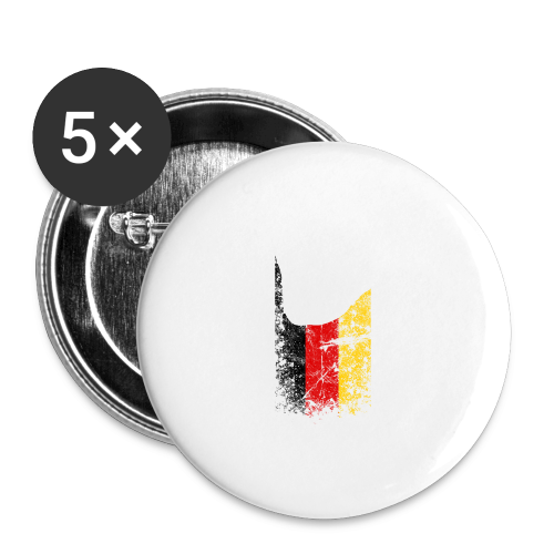 ILY Germany Handsign - Buttons mittel 32 mm
