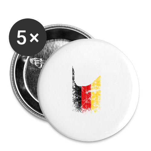 ILY Germany Handsign - Buttons klein 25 mm