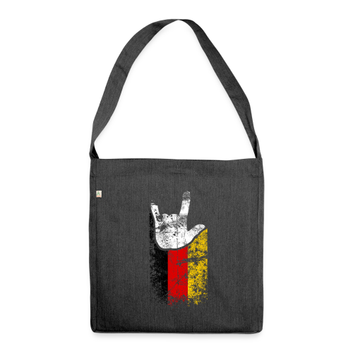 ILY Germany Handsign - Schultertasche aus Recycling-Material