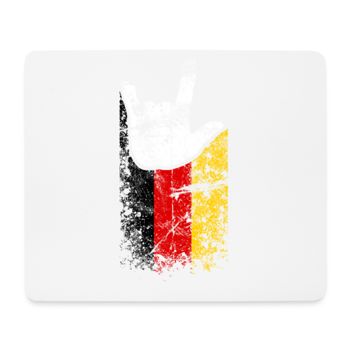 ILY Germany Handsign - Mousepad (Querformat)