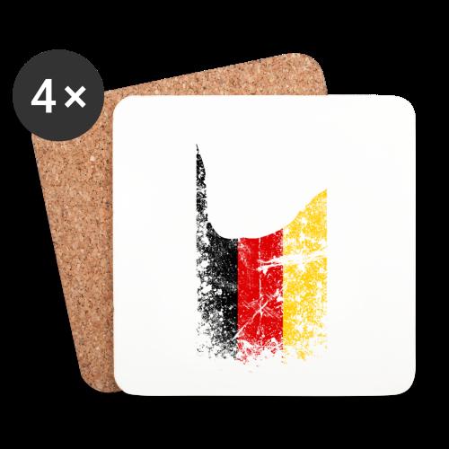 ILY Germany Handsign - Untersetzer (4er-Set)