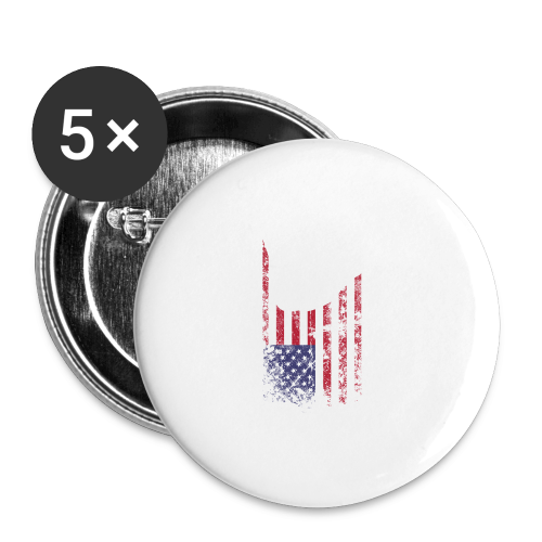 ILY USA Handsign - Buttons groß 56 mm