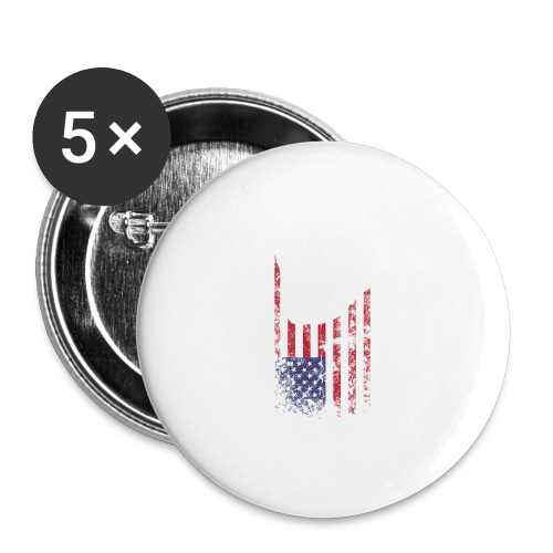 ILY USA Handsign - Buttons mittel 32 mm