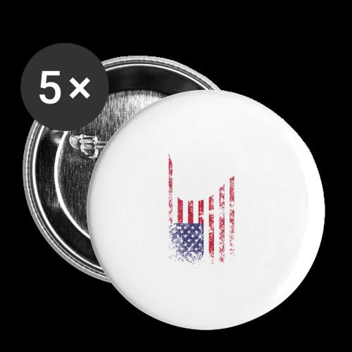 ILY USA Handsign - Buttons klein 25 mm